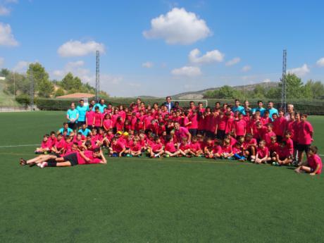 """Mariscal recalca la importancia de la disciplina y los valores deportivos en el XIV Campus de Fútbol """"Ciudad de Cuenca"""""""