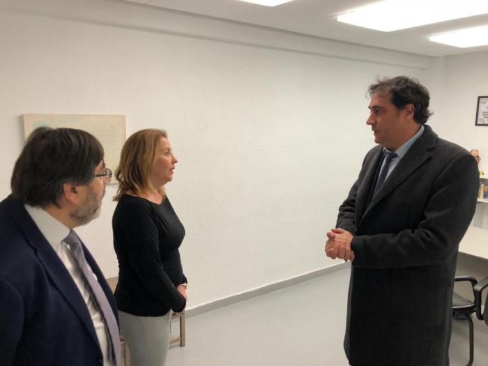 Mariscal agradece la labor de ASPAS en su visita al nuevo Centro de Atención Temprana