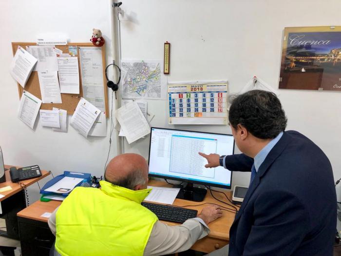 Para el Ayuntamiento las cámaras sustituyen al sistema de bolardos retráctiles y permitirá pacificar el tráfico en el Casco Antiguo