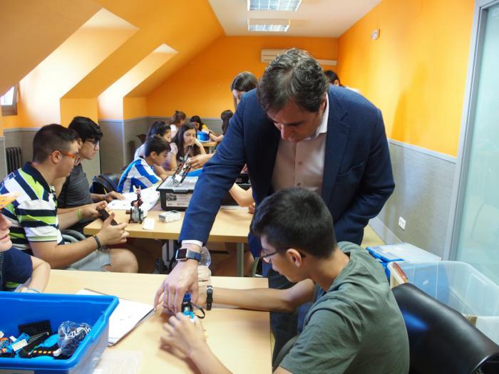 """Éxito de participación en la """"Escuela de Verano Joven"""""""