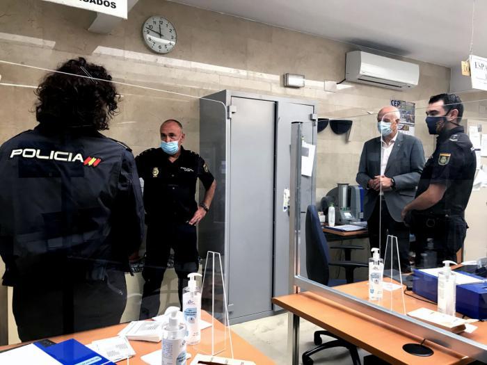 La Policía Nacional conmemora a su Patrón sin actos por el virus