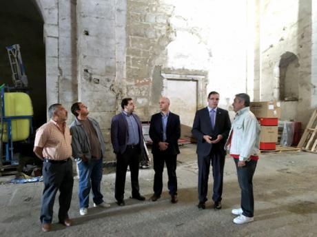 La adquisición y rehabilitación por Diputación del Convento de Santo Domingo de Huete permitirá sacarlo de la Lista Roja de Patrimonio