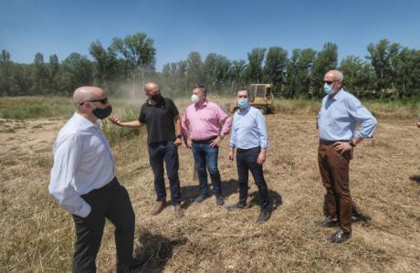 Concluye la obra hidráulica para evitar inundaciones en la confluencia de los ríos Moscas y Júcar