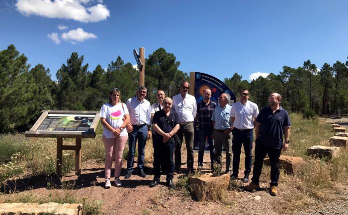 Una delegación conquense visita la comarca turolense de Gúdar Javalambre para conocer su proyecto de turismo astronómico