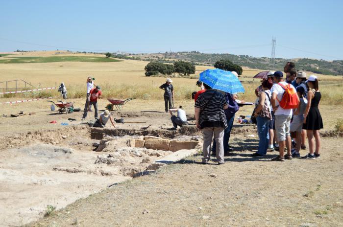 Récord de participación en las actividades de verano del Parque Arqueológico de Segóbriga
