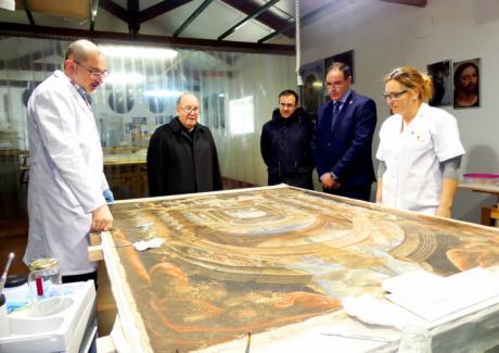 Yanguas comparte con Prieto la importancia para la provincia de la recuperación de su patrimonio