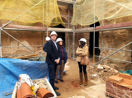 A buen ritmo las obras de rehabilitación del antiguo Convento de Clarisas de Villanueva de la Jara