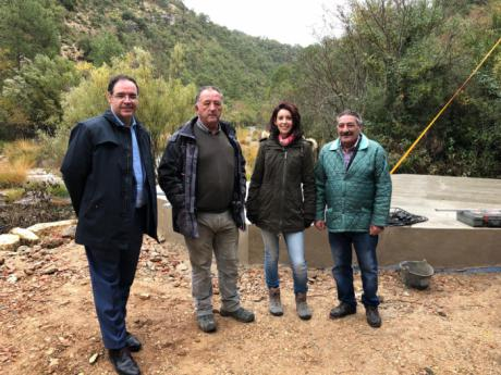 Garantizado el abastecimiento de agua a Villalba de la Sierra con la remodelación integral de su depósito