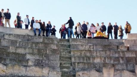 El Parque Arqueológico de Segóbriga supera los 2.000 visitantes durante el puente festivo de la Constitución