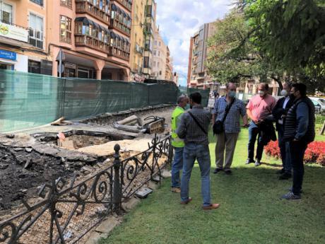 El jueves 23 de septiembre se cortará la calle José Cobo a la altura de Plaza de la Hispanidad