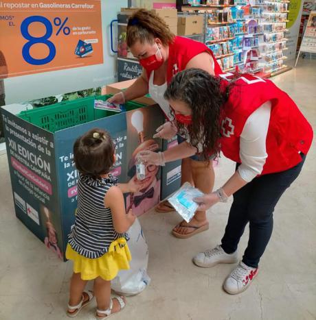 El viernes comienza en Cuenca la campaña #VueltaAlColeSolidaria impulsada por Carrefour y Cruz Roja
