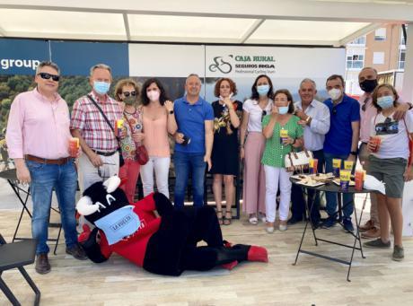 Globalcaja, firme apoyo a La Vuelta a su paso por la provincia