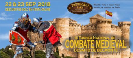 Belmonte acogerá tercera edición torneo nacional combate medieval