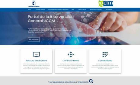 Se actualiza el portal de la Intervención General de la Junta con un diseño más moderno y accesible