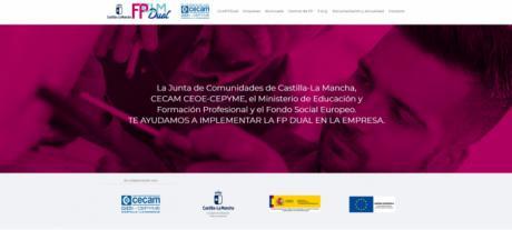 CEOE CEPYME Cuenca informa que existe una web específica para impulsar la Formación Profesional Dual