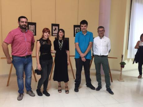 """Inaugurada en Motilla del Palancar la exposición """"Jóvenes Artistas Motillanas"""""""