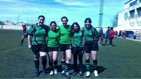 Cinco jugadoras del A Palos aspiran a formar parte de la selección regional de rugby