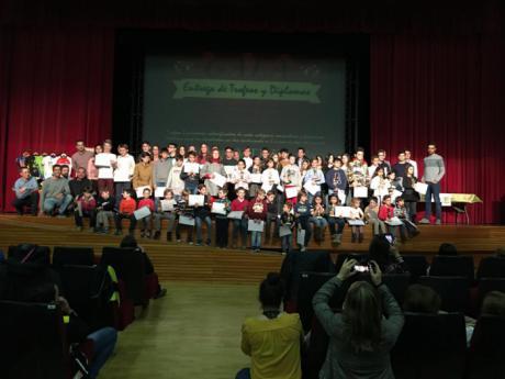 Mota del Cuervo acoge la II Gala del Circuito MTB Escuelas