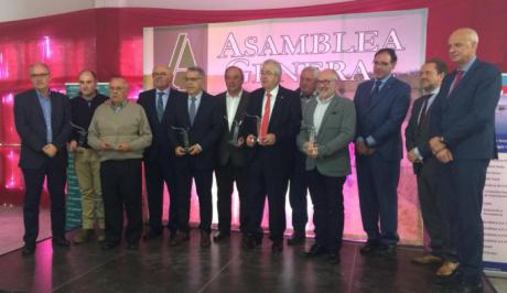 ASAJA Cuenca entrega sus distinciones 2018 en el transcurso de su Asamblea Anual y Comida de Navidad