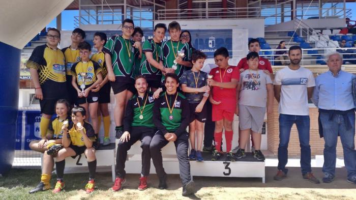 Excelente papel del A Palos en el Campeonato Regional de Rugby en Edad Escolar