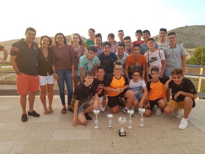 Recogidos los premios deportivos de la temporada en la Gala del deporte escolar en Cuenca