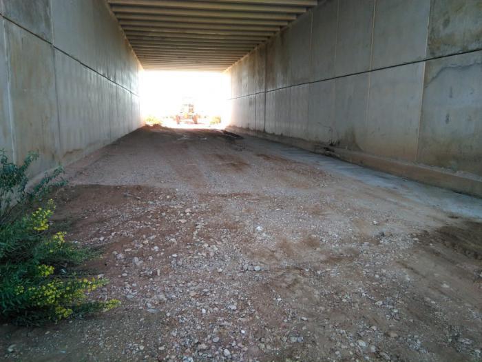 Mota del Cuervo comienza a arreglar los caminos rurales afectados por las lluvias