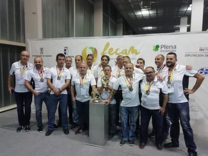El C.D El Castellar se proclama subcampeón en el 9º Campeonato Nacional de fútbol 7 inclusivo