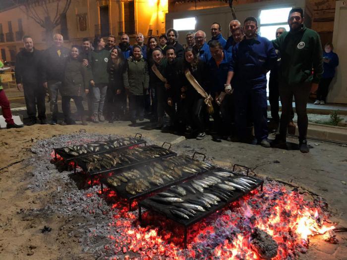 Mota del Cuervo celebra el tradicional entierro de la sardina