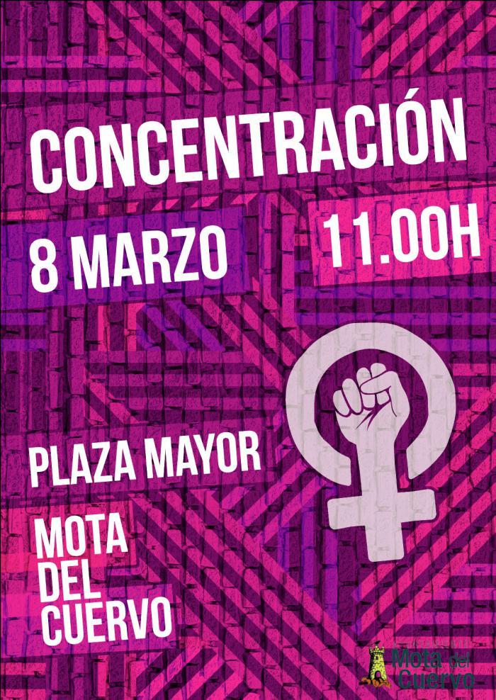El Ayuntamiento de Mota convoca una manifestación para el próximo 8 de marzo