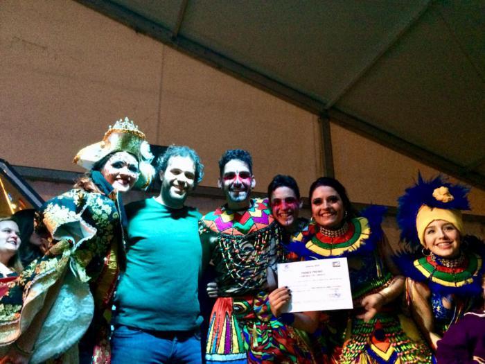 El desfile comarcal cierra el Carnaval de Mota del Cuervo