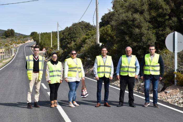 Reparado los 8 kilómetros que separan Aliaguilla y Casillas de Ranera con una inversión de 700.000 euros