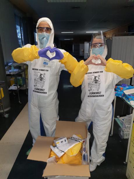 La Peña de San Mateo Tendidos Ceros muestra su cara más solidaria en tiempos de pandemia