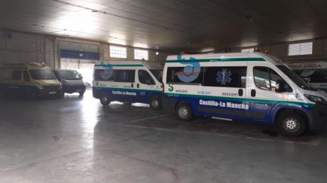 La adjudicataria de las ambulancias de Cuenca culpa al Sescam de la huelga