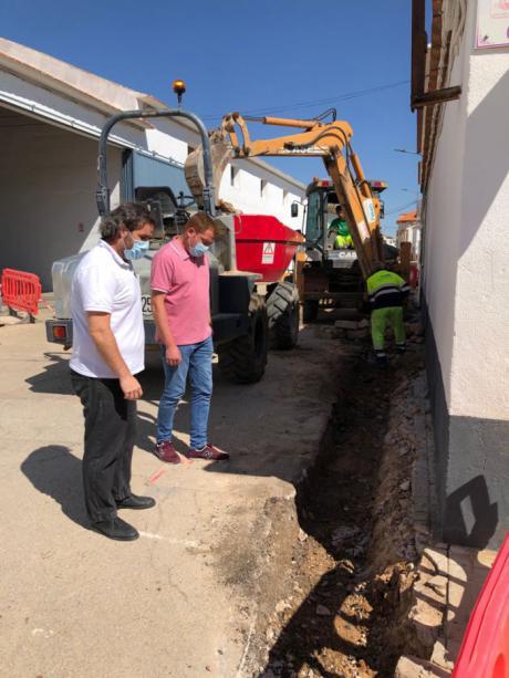 Comienzan los trabajos de pavimentación asignados al Plan de Obras y Servicios 2019 en Mota del Cuervo