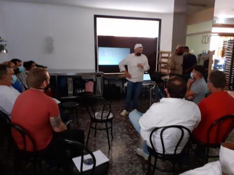 Gran acogida del curso de panadería impartido por Florindo Fierro