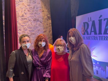 La Asociación de Mujeres Empresarias de Cuenca asiste al acto institucional del Día de la Mujer Rural