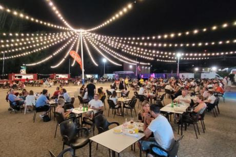 Una media de 8.000 personas pasan a diario por la zona de atracciones del Recinto Ferial