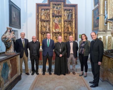 Culminada la restauración del retablo de Santa María de la Catedral de Cuenca
