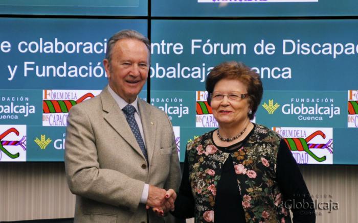 La Fundación Globalcaja renueva su apoyo al Fórum de la Discapacidad de Cuenca
