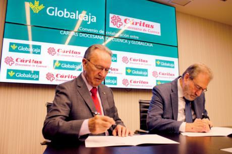 Renovado el convenio de Globalcaja con Cáritas Diocesana de Cuenca