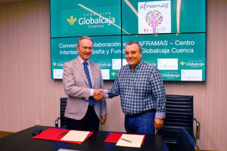 Aframas y la Fundación Globalcaja Cuenca renuevan su colaboración