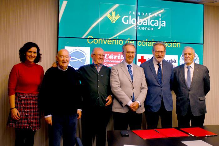 La Fundación Globalcaja Cuenca renueva su compromiso con los que más lo necesitan