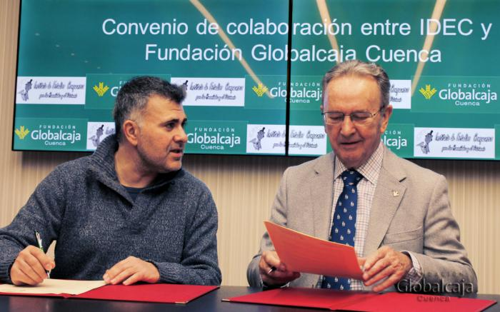 La Fundación Globalcaja Cuenca renueva su colaboración con el IDEC