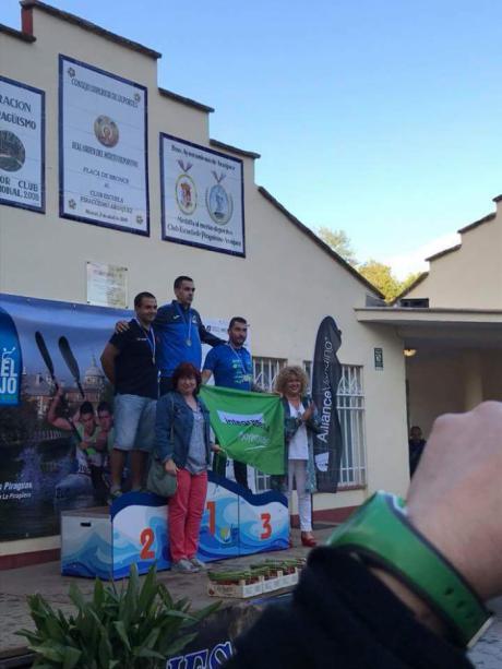 El Club de Piragüismo 'Las Grajas' en El Raphel del Tajo