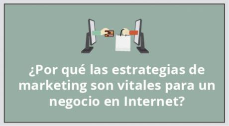 ¿Por qué las estrategias de marketing son vitales para un negocio en Internet?