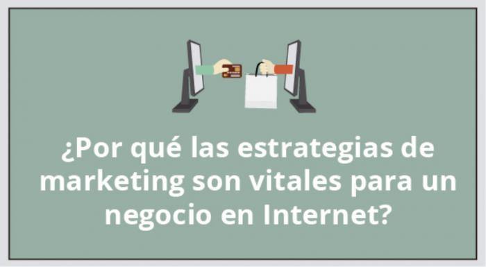 ¿Por qué las estrategias de marketing son vitales para un negocio en Internet?