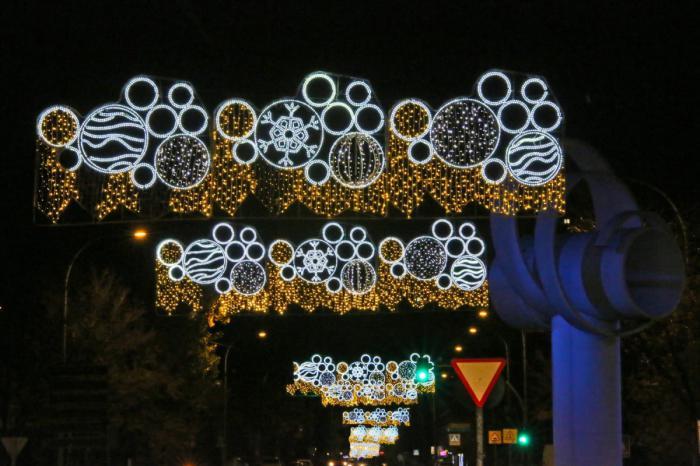 Toledo se llena de luces de Navidad