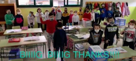 Día de Acción de gracias en el colegio de Santa Ana