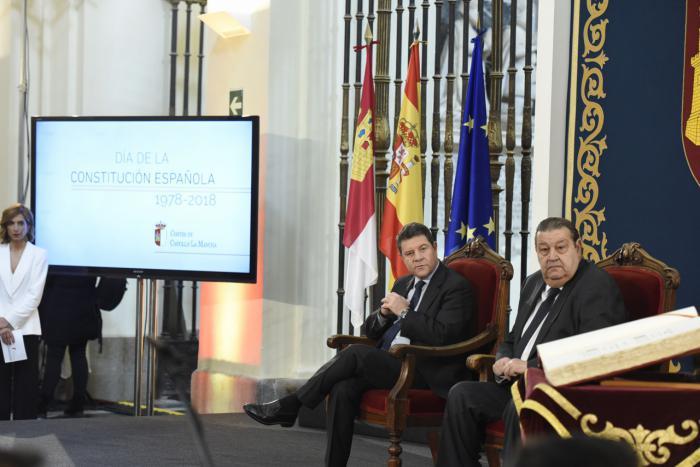 """García-Page: """"Castilla-La Mancha está por delante de los partidos y España por delante de Castilla-La Mancha y del resto de comunidades"""""""