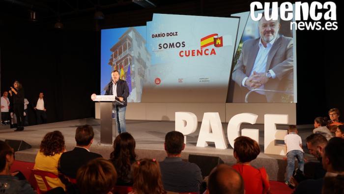 Dolz: 'Quiero gobernar de la mano de los ciudadanos de Cuenca y de la tuya, Emiliano'